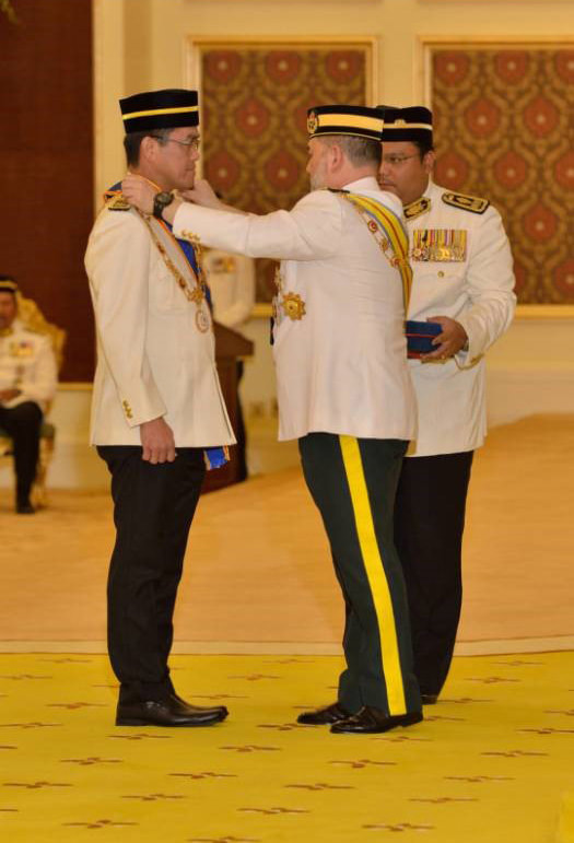 Datuk Dr. KK Chai Titled As Datuk Seri-4