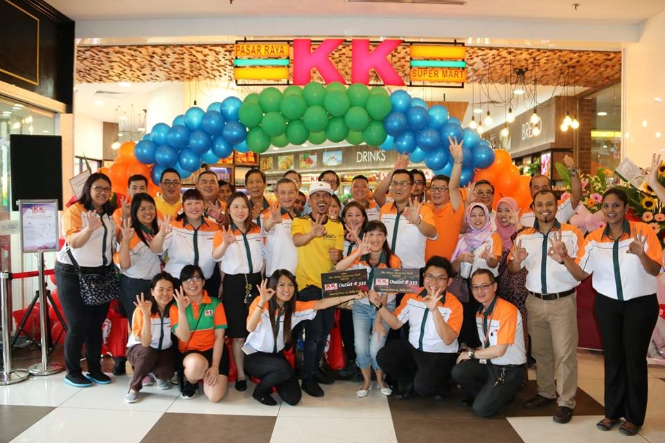 KK Super Mart Opening in the Mines