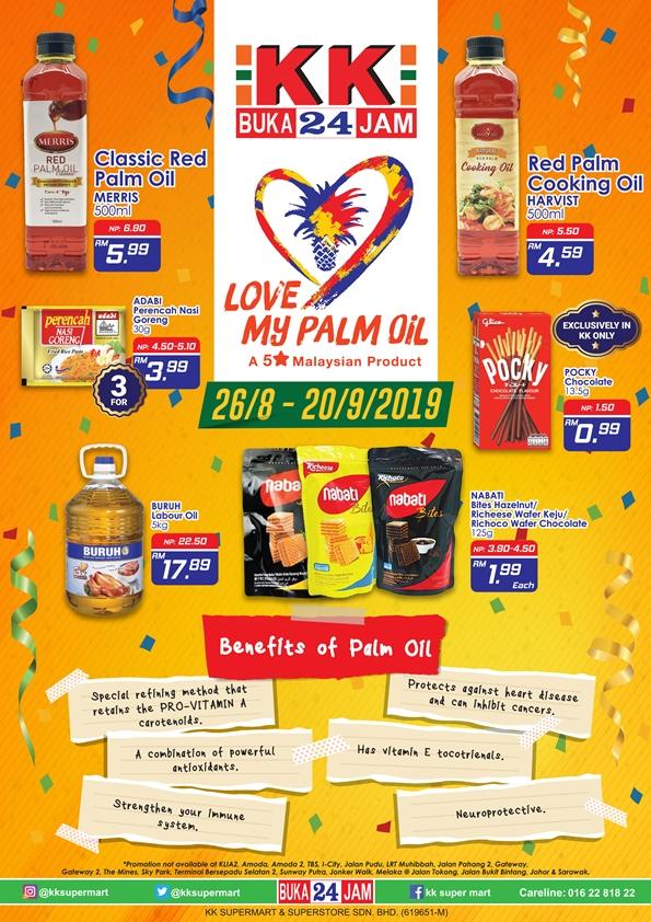 Sayangi Malaysiaku x Love My Palm Oil Promo 2019 - KK GROUP