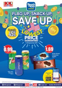 KK SUPER MART – Flag Up, Snack Up, Save Up Campaign