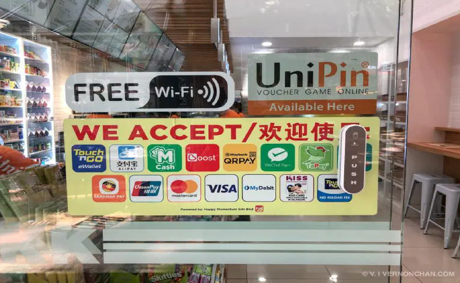 KK Super Mart is now official retailer for UniPin mobile game payment